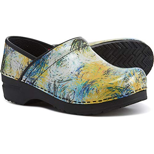 Sanita Professional Limited Edition Multi Color Women's Pattern Clogs Sanita Professional Clogs