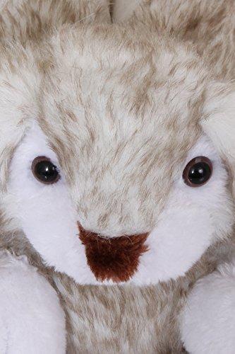 Unisex Tierhausschuhe aus Plüsch - Kinder & Erwachsene Rosa Hase