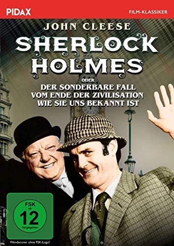 Sherlock Holmes oder Der sonderbare Fall vom Ende der Zivilisation wie sie uns bekannt ist / Witzige Krimikomödie mit Monty-Python-Legende John Cleese (Pidax Film-Klassiker)