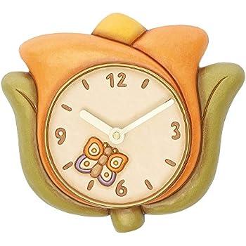Thun tulipano orologio da parete ceramica variopinto for Thun orologio da parete