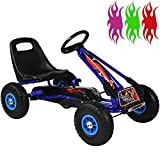 RIP-X Pedal Racing GO KART - Adjustable seat - Fully enclosed safety chain