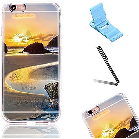 Flessibile Clear TPU Custodia Guscio Shell per Apple iPhone 5/5s/SE 4.0