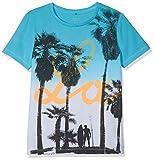 NAME IT Jungen Nkmjarius Ss Top T-Shirt, Mehrfarbig (Bachelor Button), 122/128 (Herstellergröße: 122-128)