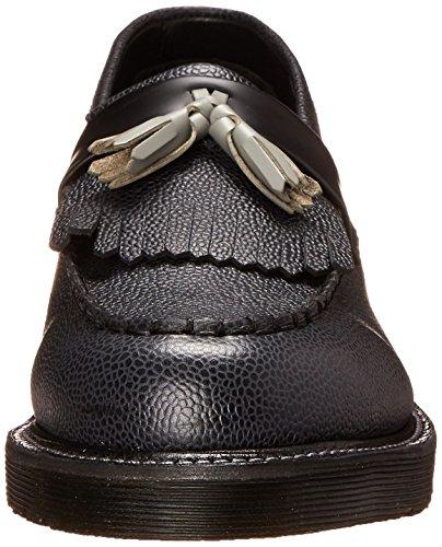 Dr.Martens Leroy Black Grey Mens Shoes Black Grey