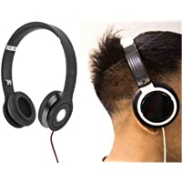 VOLTAC Solo Bass HD Headphones Portable Folded Design Noise Cancelling Soft Ear Pads for Mobiles and Computer Model 408480