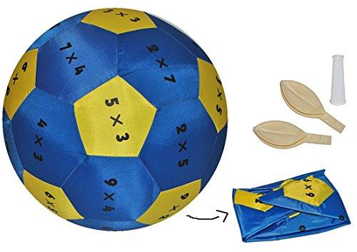 (Unbekannt XL - Lernspiel Ball - Zahlen Rechnen Multiplikation - zum Lernen Lernball Rechnen Mathematik Multiplizieren Mal einfach)