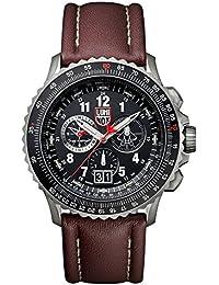 Luminox F-22 RAPTOR Herren-Armbanduhr Chronograph Quarz Leder - XA.9247