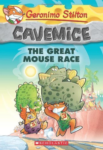 Geronimo Stilton Cavemice #5: The Great Mouse Race by Stilton, Geronimo (2014) Paperback