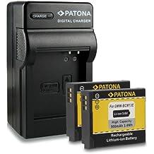 Bundle - 4en1 Cargador + 2x Batería DMW-BCM13E DMW-BCM13 para Panasonic Lumix DMC-FT5   DMC-TS5   DMC-TZ37   DMC-TZ40   DMC-TZ41   DMC-ZS30 mucho más… [ Li-ion; 1030mah; 3.6V ]