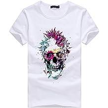 671c55e8f7a28d UFACE Frühling Sommer Herren T-Shirt Totenkopf Kapitän Captain Skull Bard  Hipster Original Spirit Stylisch
