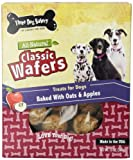 Three Dog Bakery Classic Wafers Apple Oatmeal Baked No Artificial Color 13oz