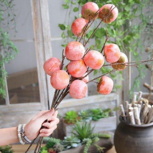 Winkey Home Dekoration, Fake Künstliche Rose Fruit Granatapfel Beeren Bouquet Floral Garden Home Decor