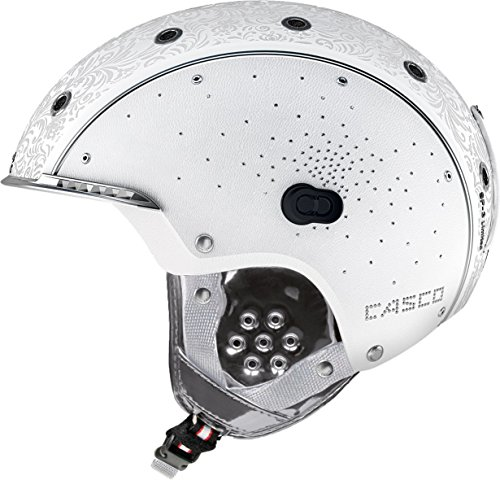 CASCO SP-3 LIMITED CRYSTAL Damen Skihelm