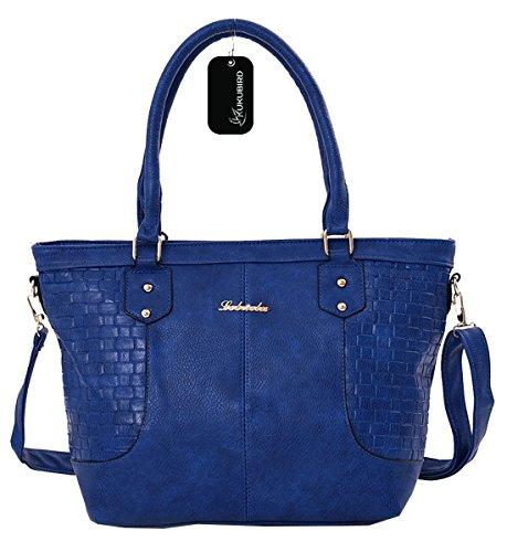 Kukubird Katrina Tote Bag borsa Casual tutti i giorni Blue