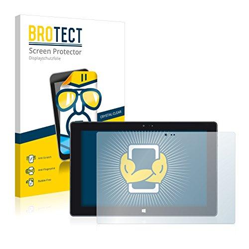 BROTECT Schutzfolie kompatibel mit Wortmann Terra Pad 1061 [2er Pack] klare Bildschirmschutz-Folie