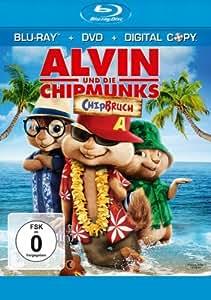 Alvin und die Chipmunks: Chipbruch (+ Digital Copy + DVD) [Blu-ray]