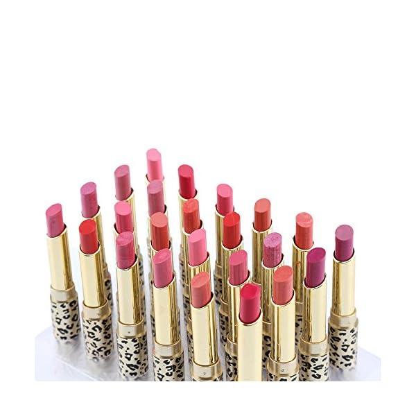 Anself – 12 colores Conjunto de Pintalabios brillante cosmético para maquillaje de labios para moda de mujeres (#2)