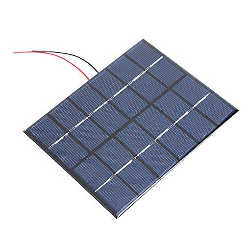 Portable Solar Power Panel (Domybest Portable 2W 6V 330mA polysilicon Solar Power Panel DIY Kit Akku Panel)