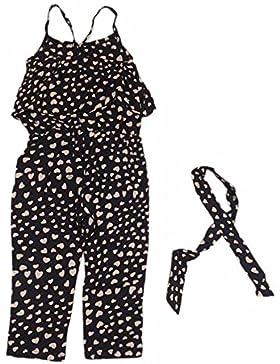 Niña Monos SMARTLADY Pantalones bodies sin mangas para Niña