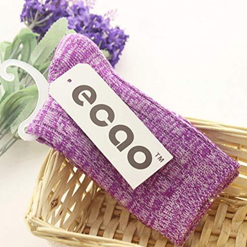 TDPYT 5 Stücke/Herbst Winter Warme Folk Style Baumwolle Socken Kniehohe Design Multi-Color Mid-Kalb Strümpfe Socke -