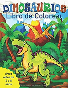 Dinosaurios Libro de Colorear para