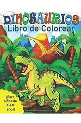 Descargar gratis Dinosaurios Libro de Colorear para Niños de 4 a 8 Años en .epub, .pdf o .mobi