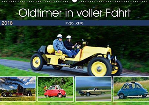 Oldtimer in voller Fahrt (Wandkalender 2018 DIN A2 quer): quicklebendig wie eh und je (Monatskalender, 14 Seiten ) (CALVENDO Mobilitaet)