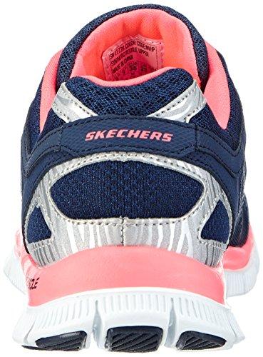 Skechers Flex Appeal Love Your Style, Chaussures de fitness femme Bleu (Nvhp)