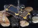 IceFox Dual Sim Outdoor Handy,2,4 Zoll Display,IP68 Wasserdicht,Stoßfest, Rugged Handy Ohne Vertrag mit Lautem Lautsprecher und Fahrradlicht - 6