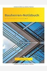 Bauherren-Notizbuch: Das clevere Eintragbuch für Hausbauer No. 5 Taschenbuch