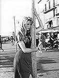 Photographie Noir et Blanc de Brigitte Bardot (40x50 cm)