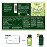 Iodine Supplement from Organic Sea Kelp by Vegavero | Thyroid and Skin | No Bulking Agents or Additives | 180 Capsules | Vegan Society Approved | Made in Germany