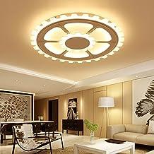 Rundschreiben Deckenleuchte Fhrte Hauptschlafzimmer Zimmer Lampe Warm Romantischen Einfach Moderne Mediterrane Kleinen Wohnzimmer