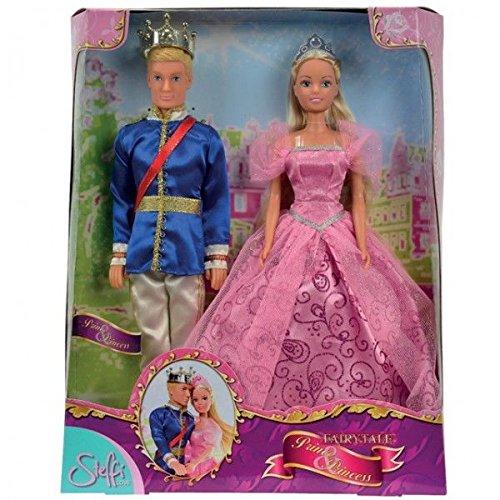 Prinzessinnen Und Disney Prinzen (Steffi Liebes-Märchen-Puppen-Doppelpack - Prinz +)