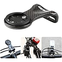 Kbsin212 - Soporte de Fibra de Carbono Ultraligero para cronómetro, para Bicicleta, Ciclismo, GPS y Deportes, Gran Accesorio para los entusiastas del Ciclismo