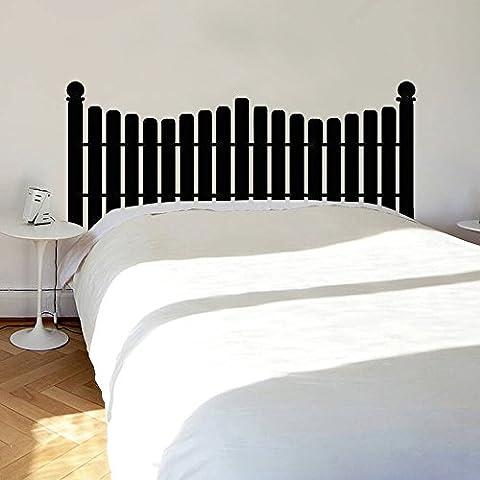 Décoration murale/sticker mural vinyle Motif tête de clôture comme cadre