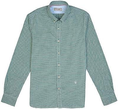 El Ganso Urban Oxford Camisa casual, Verde (Verde 0030), X-Large para Hombre