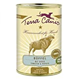 Terra Canis Büffel mit Hirse, Tomate und Papaya, 12er Pack (12 x 400 g)