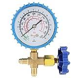 Manometer für Klimaanlage - Klimaanlage Kältemittel Nachfüllmanometer, Manometer Fit für R410A R22 R134A R404A