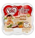 Cow & Gate Wenig gedämpft Mahlzeiten Sunday Lunch mit Karotte, Pastinake & Chicken 10m ab 230g