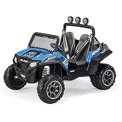 Peg Perego quesos od0084 12V Polaris Ranger RZR 900, vehículos, Azul