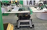 Gowe haute qualité coulissant DIY Table de travail du bois Scie 25,4cm Scie circulaire de table 254mm Bois Table saw 2600W 220V/50Hz 25,4cm Scie électrique