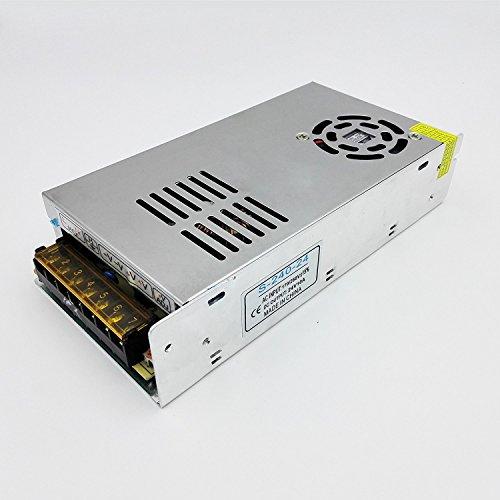 LED Netzteil Schaltnetzteil DC 24V 10A 240W Trafo Adapter IP20 Driver Transformator Netzgerät für LED Leiste Stripe Streifen 24v 10a Netzteil