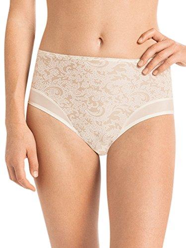 Anita Comfort 1561-709 Women's Ancona Ivory Off-White Floral Full Panty Highwaist Brief 42 (Brand Size 36) -