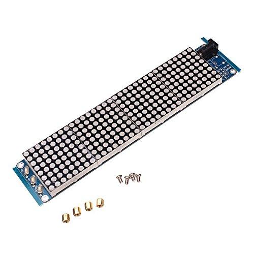 PhilMat JY-MCU 3208 celosía conductor ht1632c reloj de matriz de puntos con MCU