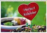 Herzerl Kalender (Wandkalender 2019 DIN A3 quer): verschiedene, lustige Herzerl (Monatskalender, 14 Seiten ) (CALVENDO Kunst)