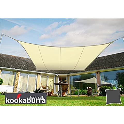 Tenda a Vela Kookaburra per Feste resistente all'acqua - Quadrata