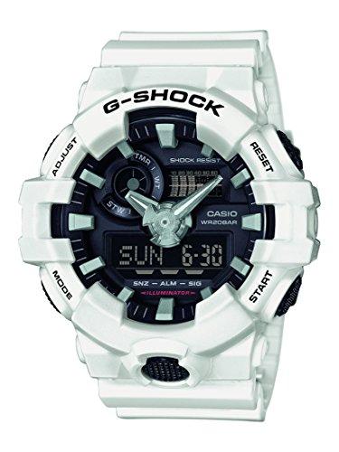 G-Shock Herren Armbanduhr GA-700-7AER Uhr Casio G-shock Weiß