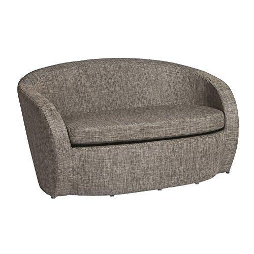 Sofa LOTUS Textilène STONE : 2 places