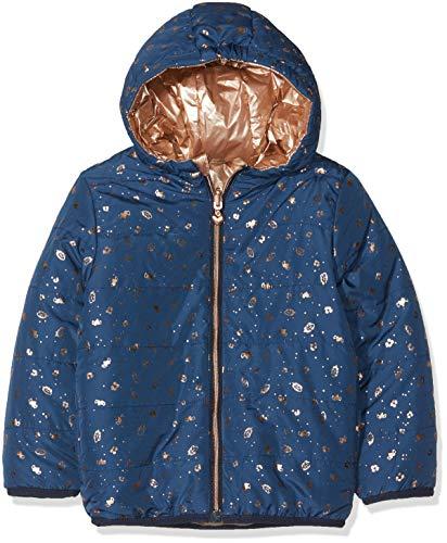 3 pommes Mädchen Jacke Jacket 3M41032, Blau (Blue Grey 42), 3-4 Jahre (Herstellergröße: 3/4Y) (Jacke Reversible Mädchen)